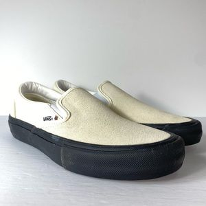 Vans Slip-On Pro Classic White Sneakers